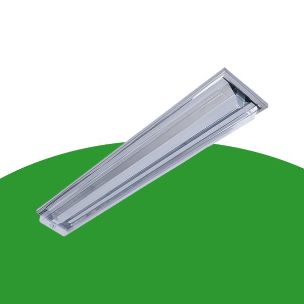 X21-2x36W直角边吸顶式净化灯