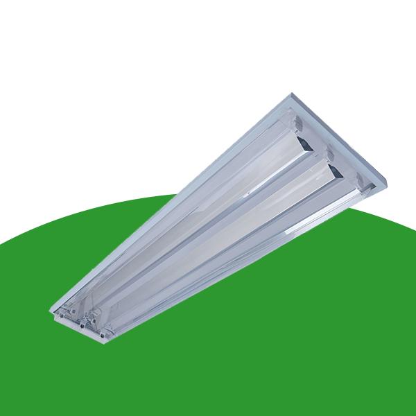 常熟X22-2x28W直角边吸顶式净化灯